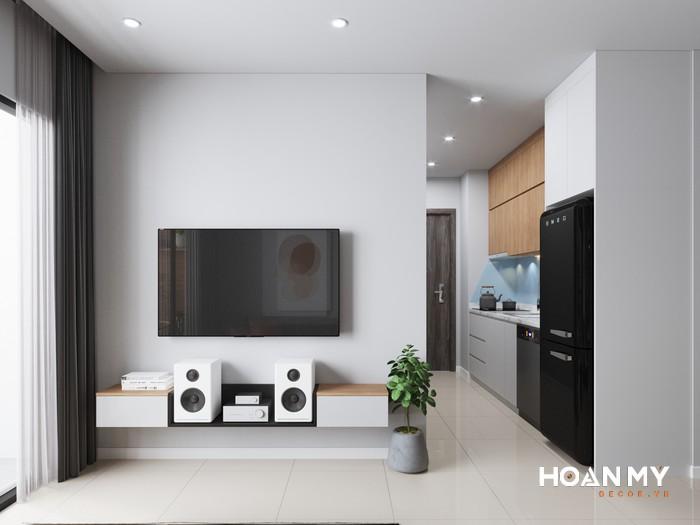 mẫu kệ tivi phòng khách hiện đại