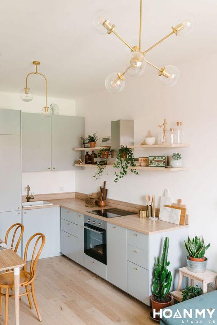 Kệ trang trí phòng bếp