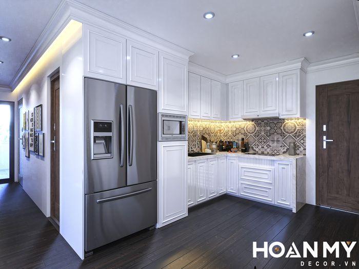 sắp xếp và trang trí nhà bếp