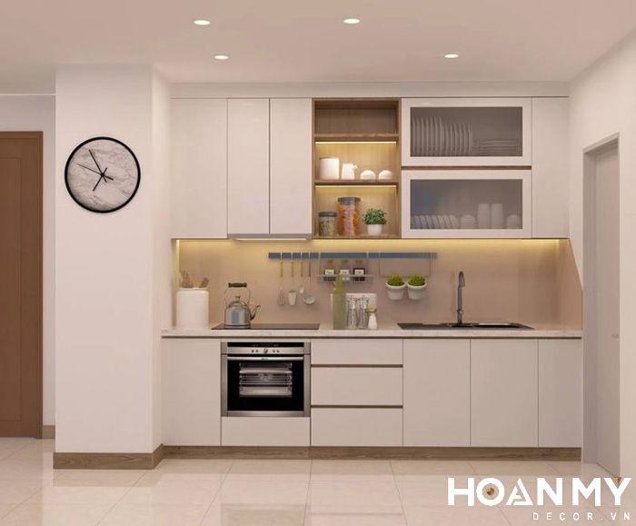 Thiết kế bếp và công trình phụ