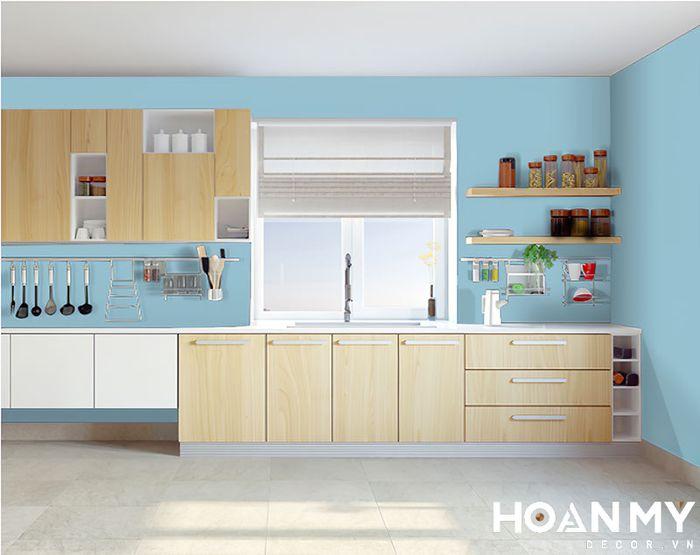 Không gian nhà bếp đơn giản
