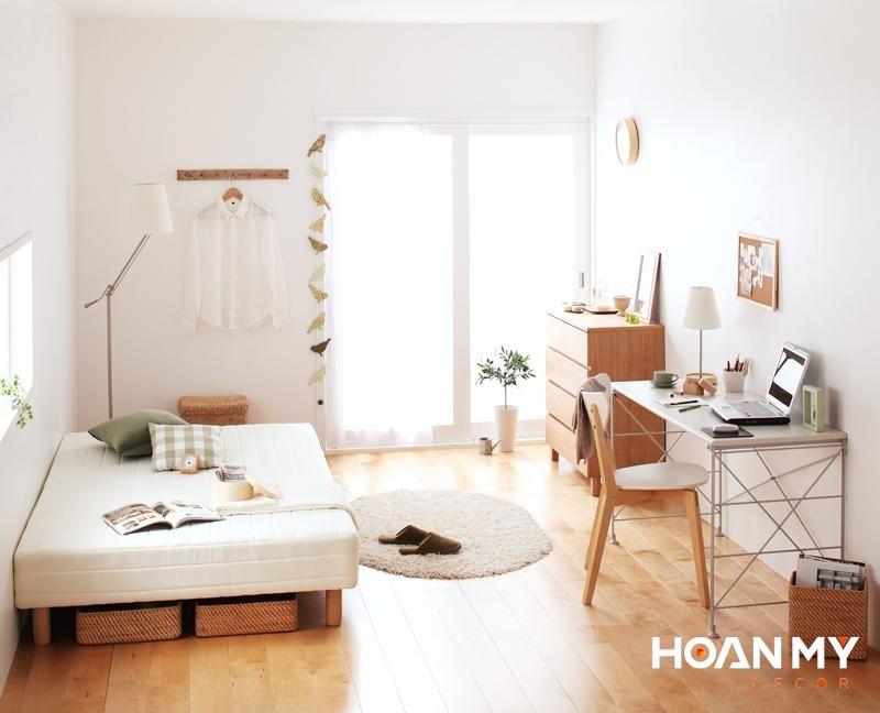 Trang trí phòng ngủ kiểu hàn quốc