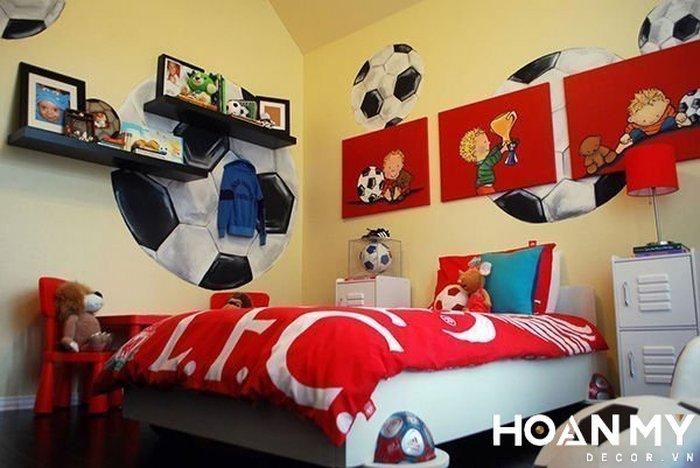 Mẫu phòng ngủ phong cách thể thao