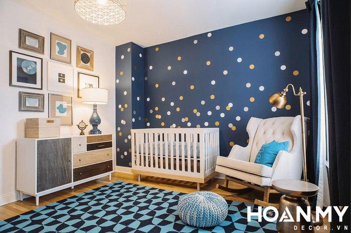 Phòng ngủ cho con trai lớn - Mẫu 1
