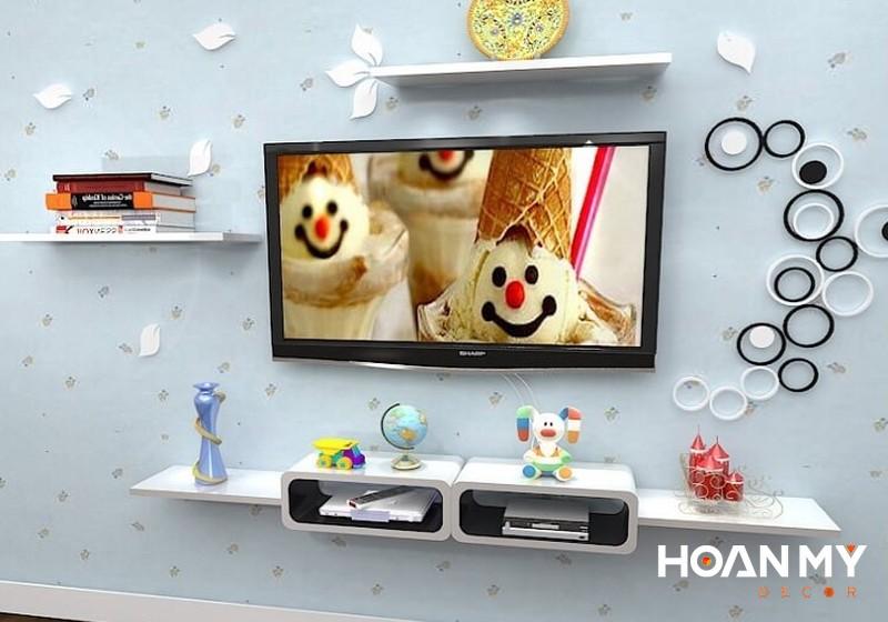 Kệ trang trí tivi