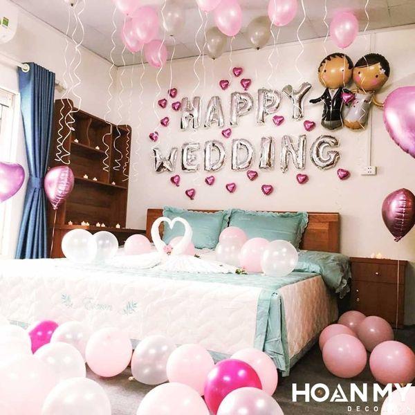 Trang trí phòng cưới theo phong cách ngọt ngào, dễ thương
