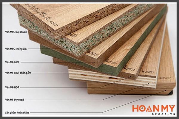 Cấu tạo gỗ MDF