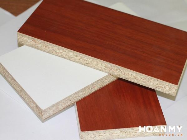 Ván gỗ MDF phủ melamine phân theo màu