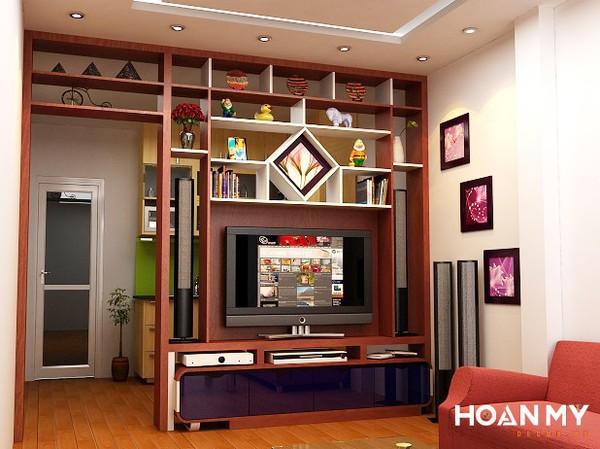 Ngăn cách giữa phòng khách và bếp một cách hiệu quả và tối ưu