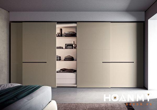 Tủ quần áo kiểu Hàn không bị bó buộc về màu sắc, những thiết kế đơn giản và tính tế là điểm nhấn đặc biệt