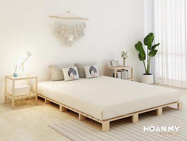 Decor phòng ngủ nhỏ vintage - Mẫu 3