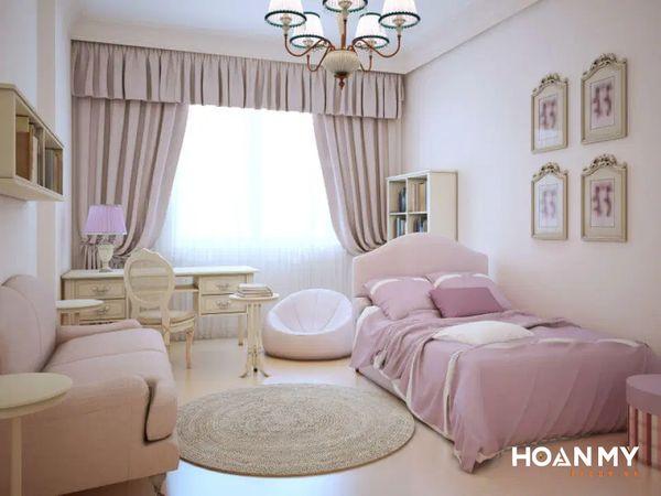 Phòng ngủ Vintage theo kiểu Hàn Quốc - Mẫu 4