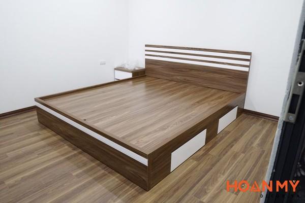 Nội thất làm bằng gỗ Melamine