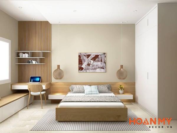 Giường gỗ công nghiệp 2m x 2m2 - Mẫu 7