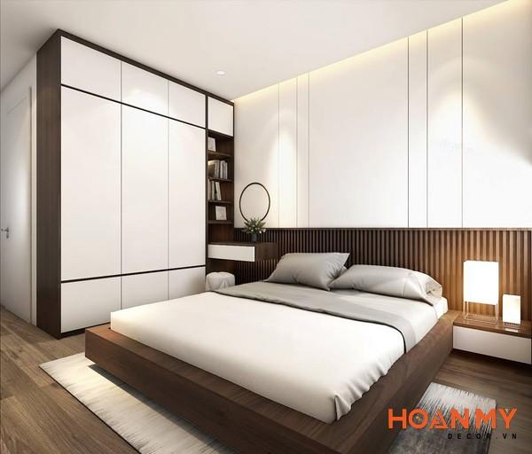 Giường gỗ công nghiệp 2m x 2m2 - Mẫu 8