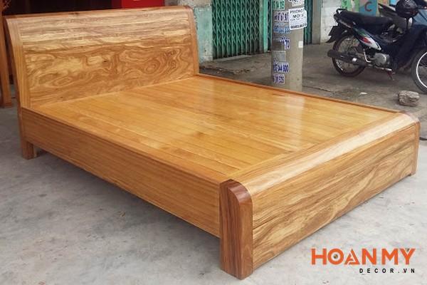 Giường gỗ hương 2m x 2m2 - Hình ảnh 2
