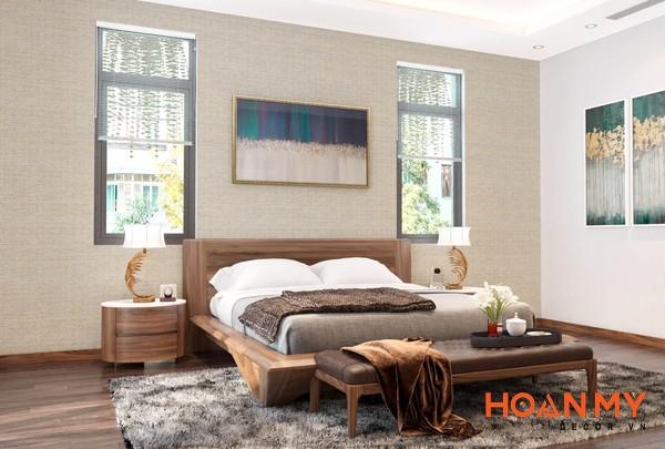 Giường gỗ óc chó 2m x 2m2 - Hình ảnh 10