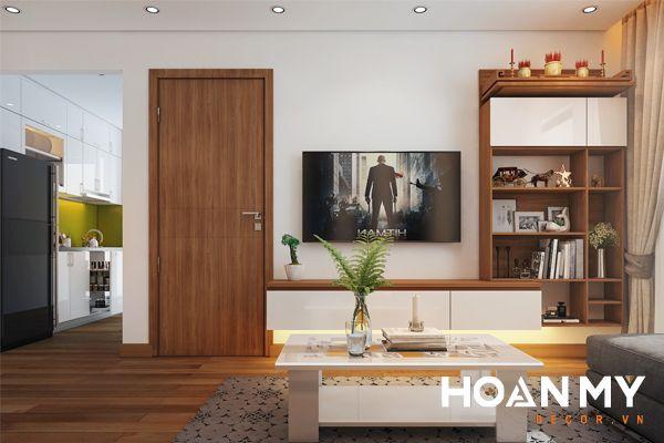 Giúp tạo ra không gian phòng khách thông thoáng gọn gàng