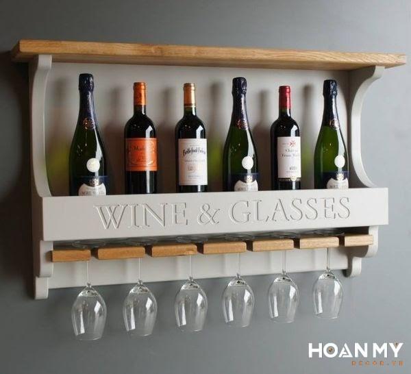 Mẫu tủ rượu treo tường đẹp - Hình ảnh 2