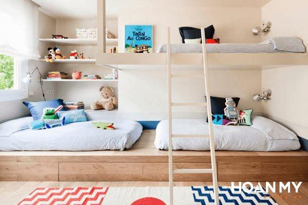 Không gian phòng ngủ cho bé