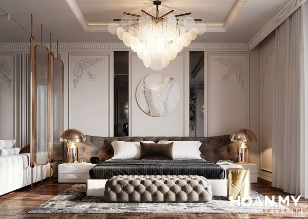 Sofa phòng ngủ là nơi bạn có thể ngồi thư giãn, đọc sách,...