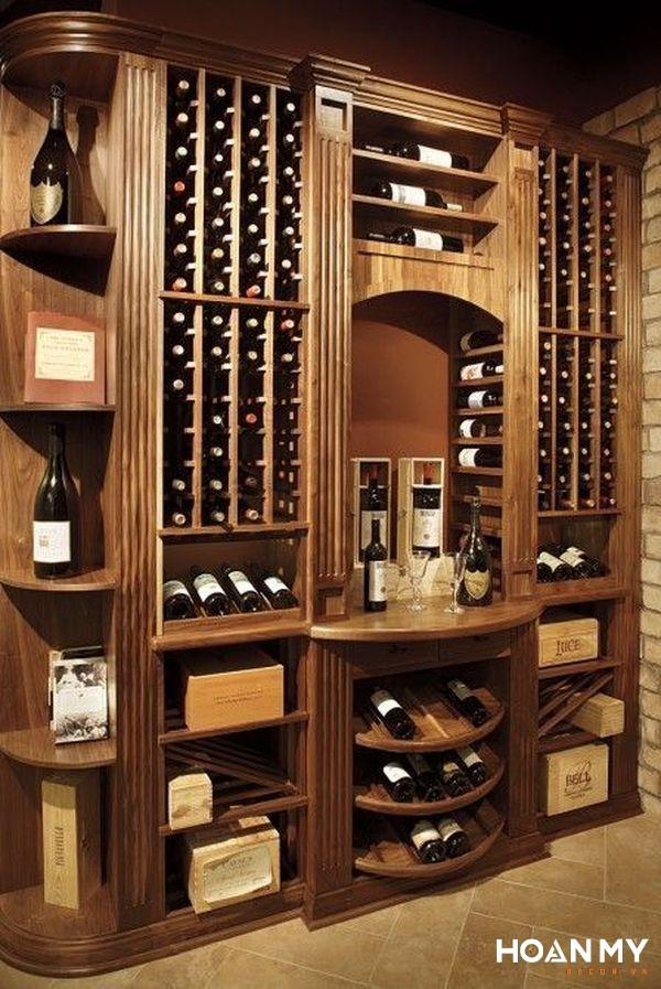 Tủ bảo quản rượu đa năng - Mẫu 3