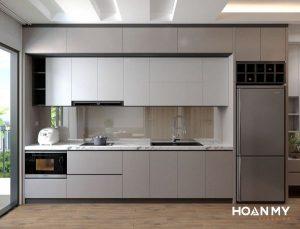 Tủ bếp âm tường tiện ích
