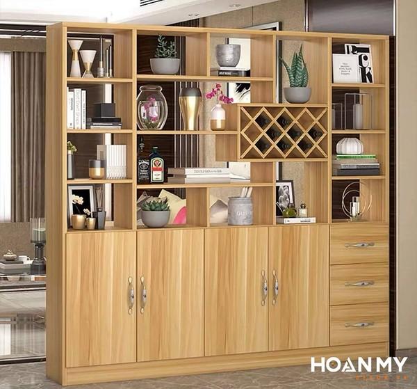 Tủ trưng bày rượu kiểu hiện đại - Mẫu 3